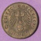 Germany 1 Reichspfennig Third Reich 1942A  Ruler: Adolf Hitler