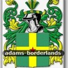 ADAMS - Borderlands - Coat of Arms - Family Crest - Armorial - GIFT! 8.5x11