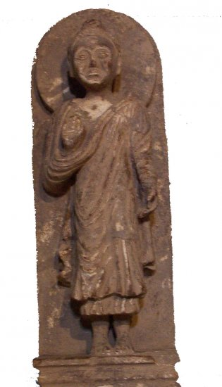 ANTIQUE BUDDA STATUE STONE