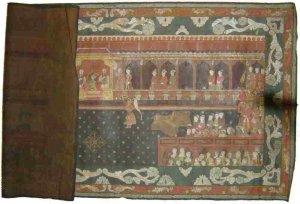 ANTIQUE ASIAN PAINTING THE EMPERROR JAHANGIR INDIA RAR