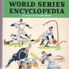Vintage paperback WORLD SERIES ENCYCLOPEDIA 1903 - 1960/ Highlights, Stats, History/ Baseball