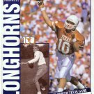 September 26, 1992 TEXAS LONGHORNS vs. NORTH TEXAS Football Game Program