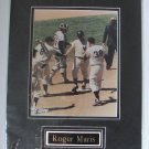 "ROGER MARIS/ New York Yankees/HOT SHOTS USA, INC./ 12"" x 16"" Double Matted Photo"