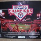 TEXAS RANGERS/ROUND ROCK EXPRESS Schedule Poster/ SGA March 30, 2011 EXHIBITION