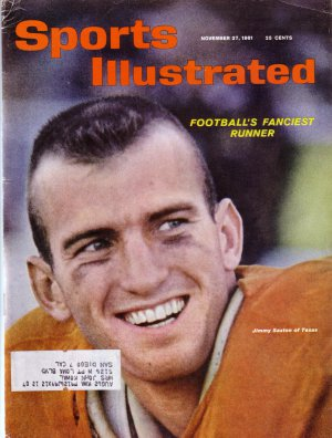 SPORTS ILLUSTRATED November 27, 1961/ Jimmy Saxton/ TEXAS LONGHORNS FOOTBALL