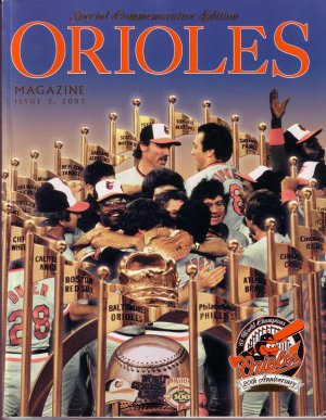 2003 BALTIMORE ORIOLES Special Commemorative Edition Program w/Cards