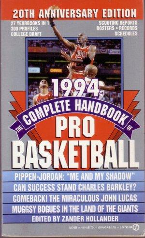 1994 THE COMPLETE HANDBOOK OF PRO BASKETBALL/ NBA/ Michael Jordan