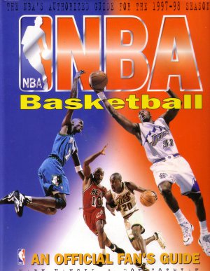 1997-98 Season NBA BASKETBALL An Official Fan's Guide Illustrated Hardcover