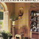 HOUSE & GARDEN July 1987 1980's magazine Enrico d'Assia Villa Polissena, Ipswich Whipple House