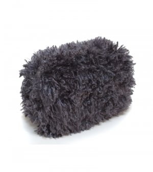 Gray Faux Lamb Purse - As Seen on the Wendy William's Show!