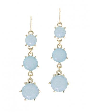 Blue Drop Earrings