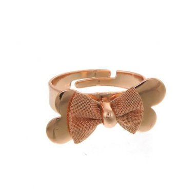 Rose Gold Adjustable Bow Ring