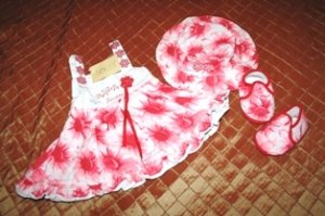 Lolet Spring Summer Dress 3-6 months NWT