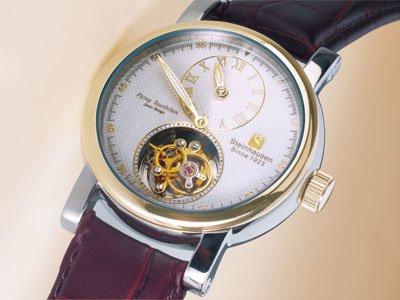 Steinhausen Tourbillon Mechanical Watch (Gold) # TW 521 G