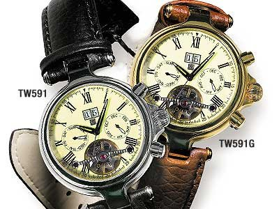 Steinhausen Open Heart Watch (Gold) # TW 591 G