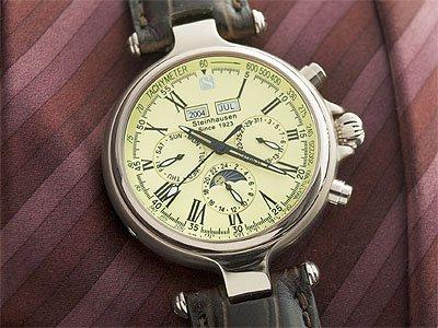Steinhausen New Infinity Automatic watch (Silver) # TW 385 S