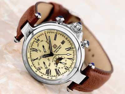 Steinhausen Marquise Automatic Watch Silver # TW 391