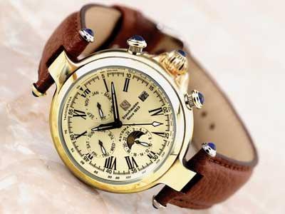 Steinhausen Marquise Automatic Watch Gold # TW 391 G
