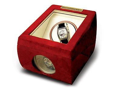 Steinhausen Single Watch Winder (Cherrywood) # TM 483 E