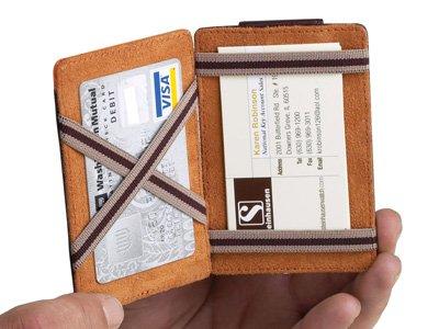 Steinhausen Tricktac Wallet (Brown) # TN 218 B