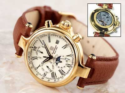 Steinhausen Classic Automatic Watch (Gold) # TW 381 G