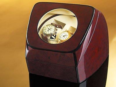 Steinhausen Compact Dual Watch Winder (Brown) # TM 515 DE