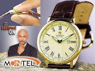 Steinhausen Dunn Horitzon Watch (Gold) # TW 493 G