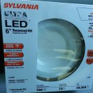 "Sylvania 70699 LED/RT6/700/827/FL80 6"" Retrofit Recessed LED Light Kit"