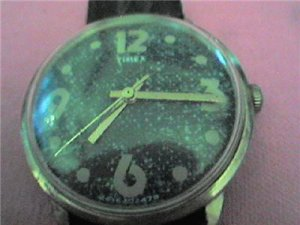 1978 BLUE JEANS COLOR DIAL TIMEX WINDUP WATCH