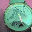 UNUSUAL MOUSE SECOND HAND QUARTZ WATCH