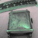 VINTAGE SQUARE IMPERIAL WATCH 4U2FIX STEM GLASS  & CASE