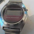 VINTAGE NATIONAL SEMICONDUCTOR LCD WATCH 4U2FIX