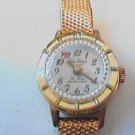 RARE VINTAGE 17 JEWEL MYSTERY DIAL LADY WATCH RUNS