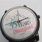 VINTAGE 35 YEAR DISNEYLAND LORUS PLASTIC QUARTZ WATCH