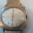 VINTAGE SQUARE WITTNAUER GENEVE  DIAL WATCH RUNS GOOD