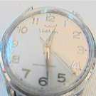 CHROME PLATED TOP WALTHAM WINDUP WATCH RUNS slow 4u2fix
