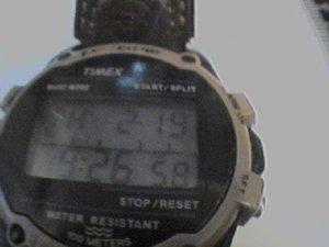VINTAGE TIMEX EXPEDITION CHRONO QUARTZ WATCH RUNS 4FIX
