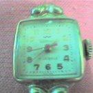 VINTAGE WALTHAM 17J RED HAND COCKTAIL WATCH RUNS