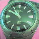 UNUSUAL DATE AT 6 FOSSIL BLUE WATCH 4FIXNEEDS STEM