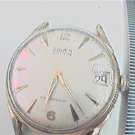 VINTAGE SWISS GRUEN DATE WATERPROOF WINDUP WATCH 4U2FIX