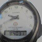 CASIO FORESTER ILLUMINATOR LCD ANALOG WATCH 4U2FIX RUNS
