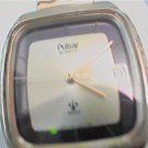 GOOD LOOKING SQUARE PULSAR DATE QUARTZ WATCH RUNS