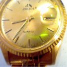 Good clean band jordache japan quartz date watch runs