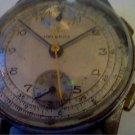 VINTAGE HELBROS VENUS 170 CHRONOGRAPH WATCH RUNS 4U2FIX