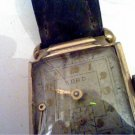 VINTAGE 7 JEWEL KORD SQUARE WATCH NEEDS HAND RUNS