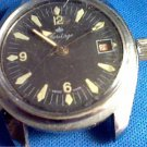 VINTAGE HERITAGE 5ATM DATE WATCH RUNS 4U2FIX BEZEL