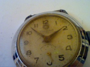 VINTAGE SUB SECONDS DIAL CONQUEST WATCH 4U2FIX