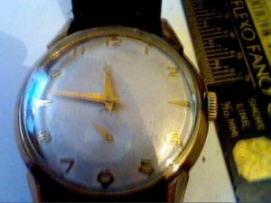 VINTAGE ELGIN DURAPOWER 715 SUB SEC WATCH RUNS 4U2FIX