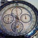 VINTAGE SEIKO 7134 ALARM CHRONOGRAPH WATCH RUNS 4U2FIX