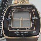 RARE SWISS MODULE ADVANCE LCD ALARM WATCH